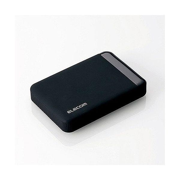 エレコム ポータブルハードディスク USB3.0 ハードウェア暗号化 管理ソフト対応 セキュリティ機能 3年保証 2TB ELP-S020T3(代引不可)【送料無料】