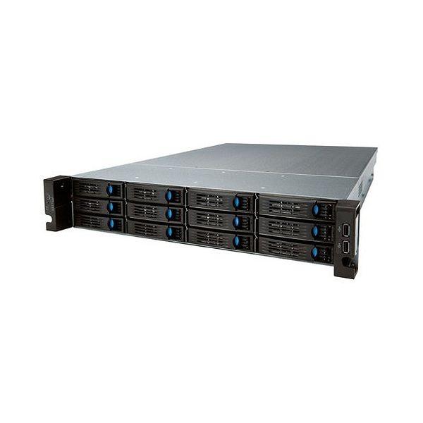 エレコム Windows Storage Sever 2016 Standard搭載NAS 2Uラック型 12ベイ 48TB NSB-96R48T12RS6(代引不可)【送料無料】