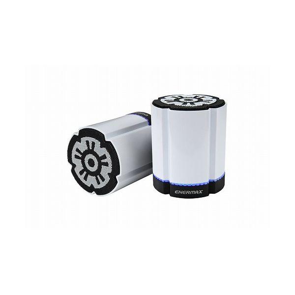 ENERMAX ENERMAX Bluetooth スピーカー STEREOTWIN DUAL DW EAS02S-DW(代引不可)