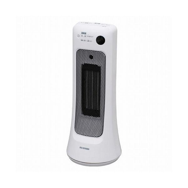 アイリスオーヤマ セラミックヒーター 首振り室温センサー JCH-12ST(代引不可)【S1】