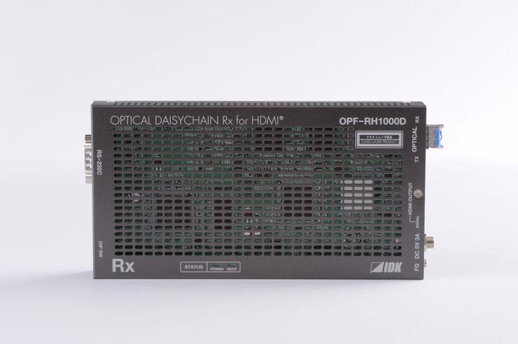 人気の アイ・ディ・ケイ HDMI光ファイバケーブル送信器(シングルモードファイバー)デイジーチェーンモデル OPF-RH1000D-SM(), 向日葵SHOP a214c9e1