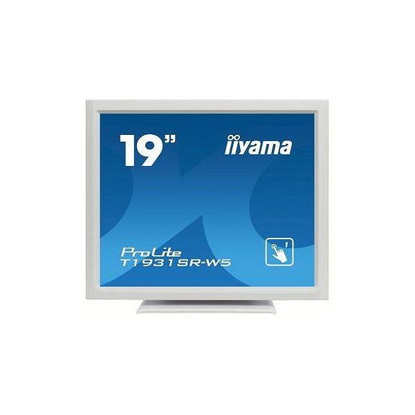 イーヤマ 19インチ タッチパネル スクエア 液晶ディスプレイ T1931SR-W5(代引不可)【送料無料】