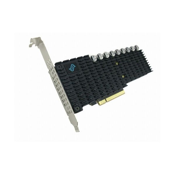 Liqid 7.68TB NVMe SSD PCIe Gen3.0 x8 HHHL AIC、 Datacenterモデル DWPD=1、 3年保証(容量に優れたモデル) LQD-E1APA04M007T68(代引不可)