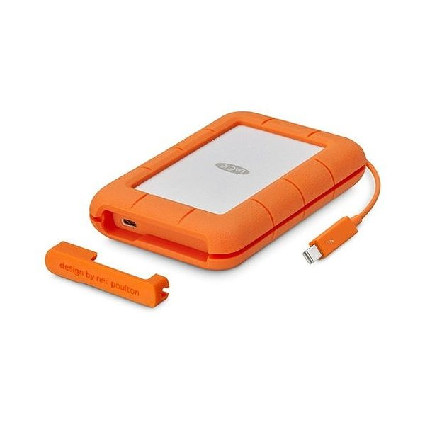 ラシー Rugged Thunderbolt USB-C 5TB STFS5000800(代引不可)【送料無料】