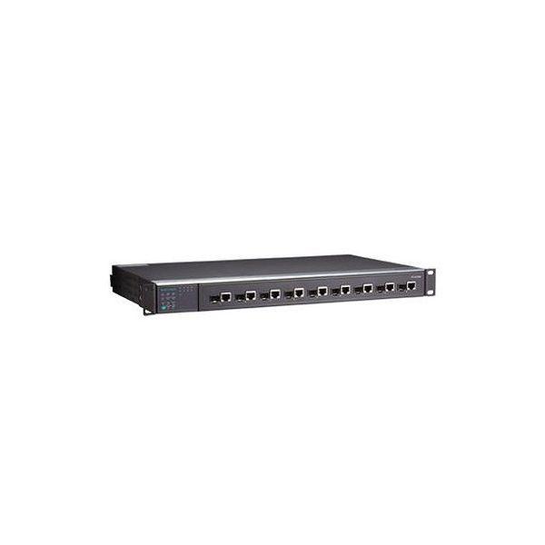 MOXA IEC 61850-3認証 9ポート フルギガビット・マネージドスイッチ PT-G7509-R-48-48()【ポイント10倍】