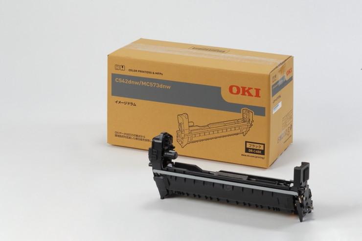 OKI イメージドラム ブラック (MC573dnw C542dnw) DR-C4BK(代引不可)【S1】