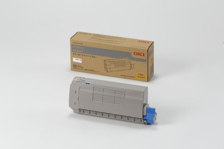 OKI トナーカートリッジ イエロー (C712dnw) TC-C4CY1(代引不可)【送料無料】