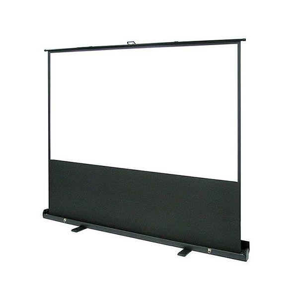 オーエス フロアスタンドスクリーン パンタグラフ式 60型 SMS-060HM-P1-WG903(代引不可)【送料無料】