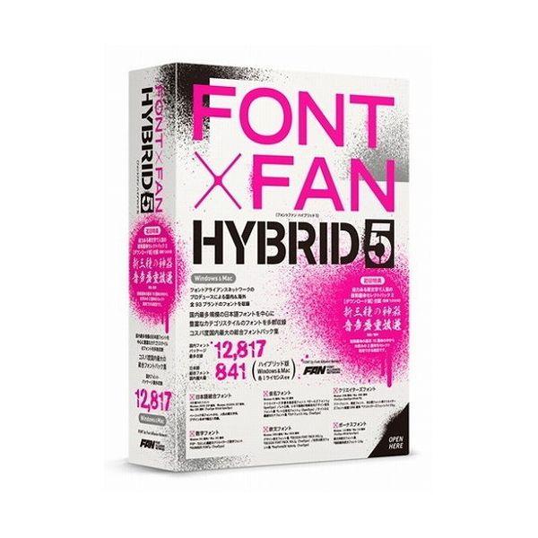 ポータルアンドクリエイティブ FONT X FAN HYBRID 5 FF09R1(代引不可)【S1】
