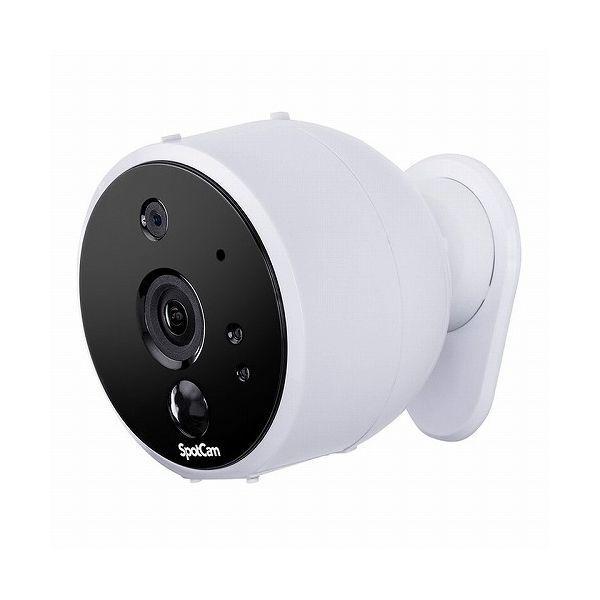プラネックス コミュニケーションズ SpotCam クラウド録画&AI対応 バッテリーカメラ SPOTCAM-SOLO(代引不可)【送料無料】