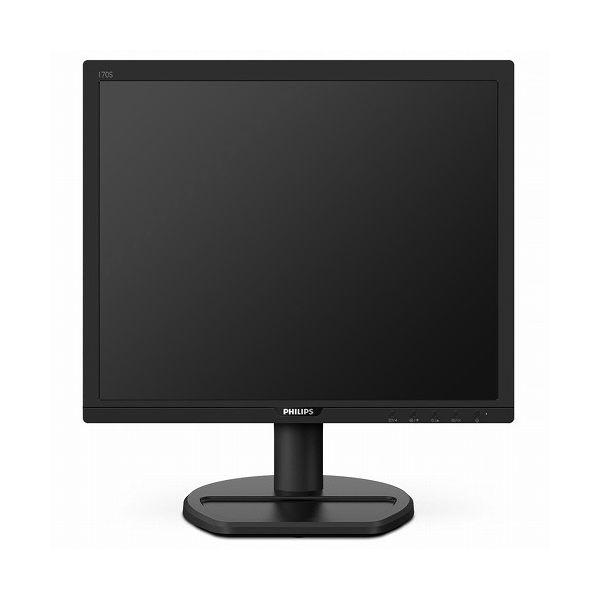 Philips Electronics 17インチ スクエア液晶モニタ(1280x1024 DVI-D D-Sub15ピン ブラック スピーカー) 170S9A 11(代引不可)