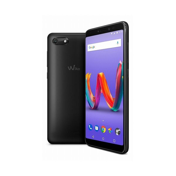 WIKO Tommy3 Plus(Anthracite Matte) W-V600(ANTHRACITE MATTE)(代引不可)