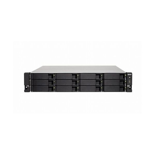 QNAP TS-1232XU-RP-4G 12TB搭載モデル 2Uラック型 NAS ニアラインHDD1TBx12 TS-1232XU-RP 12TB-U()【ポイント10倍】