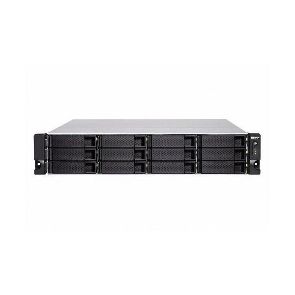 QNAP TS-1283XU-RP-E2124-8G 48TB搭載モデル 2Uラック型 NAS ニアラインHDD 4TBx12 TS-1283XU-RP 48TB()【ポイント10倍】