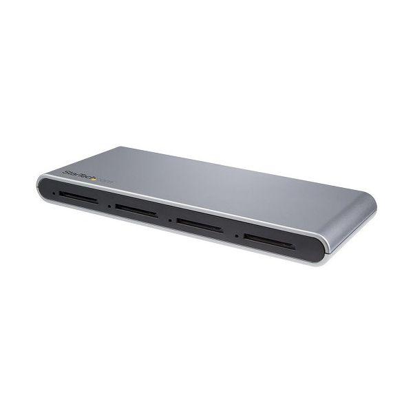 USB Type-C接続 SDカードリーダー 4スロット搭載 USB 3.1 SD 4.0 UHS-II準拠 USB-C - SDカード アダプタ 4SD4FCRU31C(代引不可)【送料無料】