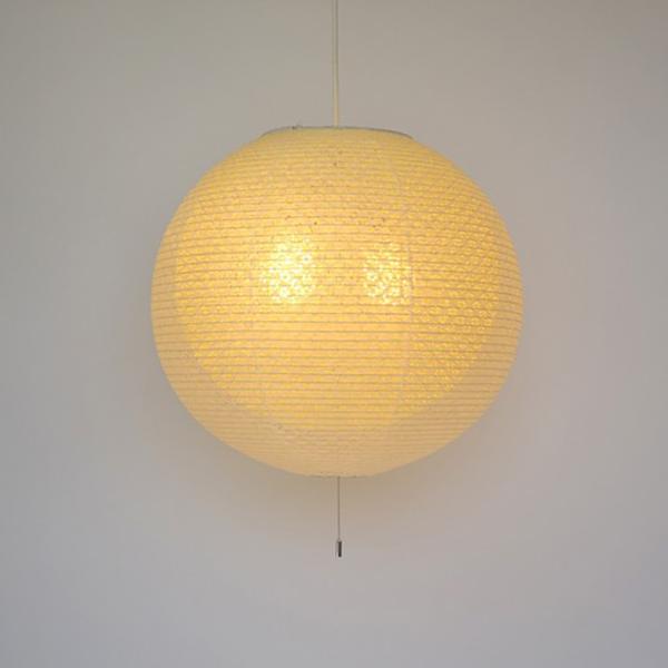 日本製和紙照明 丸型ペンダントライト 小梅柄二重提灯【送料無料】