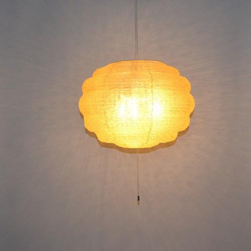 日本製和紙照明 丸型ペンダントライト モコ【送料無料】