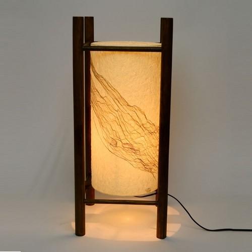 日本製和紙照明 円筒型フロアライト 行燈【送料無料】