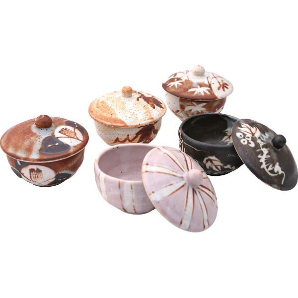匠魅 蓋付煎茶5客揃 和陶器 和陶湯呑み 5客湯呑み 160256(代引不可)