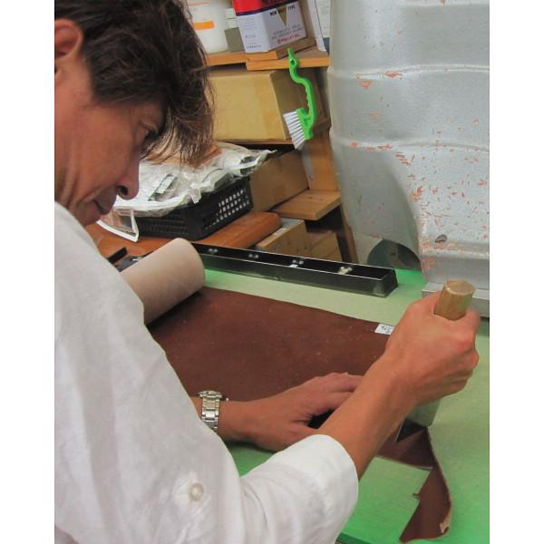 マストロ フラップミドルウォレット ナチュラル 装身具 財布 札入れ MLE1305(代引不可)【送料無料】