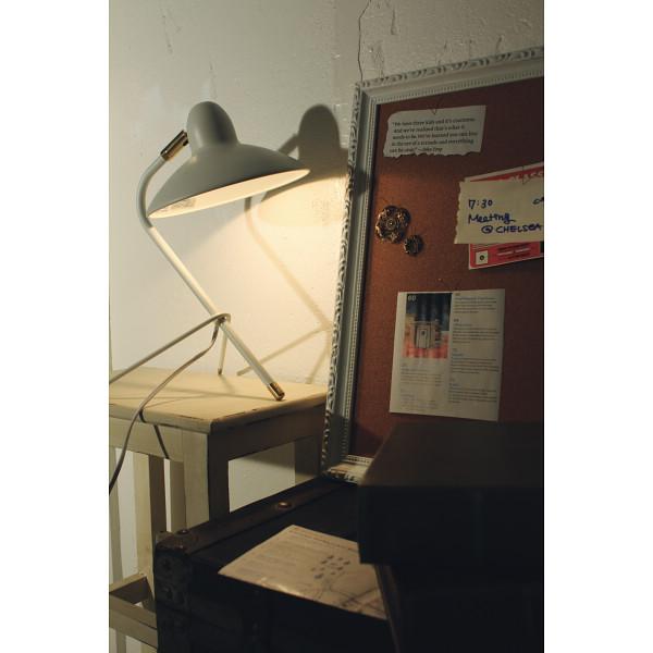 DI CLASSE アルル デスクランプ ホワイト 室内装飾品 照明 デスクスタンド LT3686WH(代引不可)【送料無料】