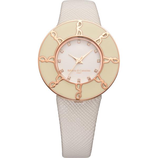 ロベルタディカメリー ロベルタディカメリー ラウンドロゴ腕時計 パステルイエロー TAVOLOZZA 装身具 婦人腕時計 RC7743-08YE(代引不可)【送料無料】