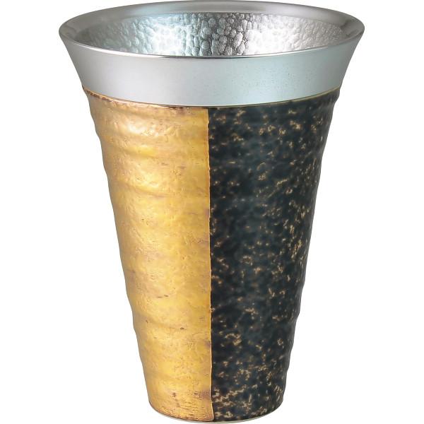 ZEN 錫陶フリーカップ 金 和陶器 和陶バラエティー ビールカップジョッキ(代引不可)【送料無料】