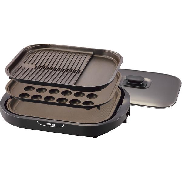 タイガー ホットプレート(3枚) 電化製品 電化製品調理機器 ホットプレ-ト CRC-B301T(代引不可)【送料無料】