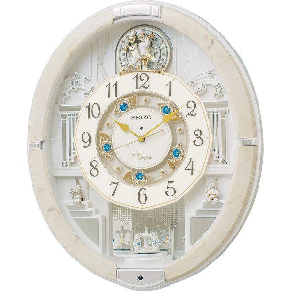 セイコー 電波からくり掛時計 室内装飾品 掛け時計 からくり時計 RE576A(代引不可)【送料無料】