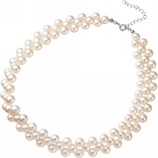 MAISON DE メゾン ドゥ ファミーユ あこや真珠ネックレス ホワイト 装身具 アクセサリー ネックレス MFN‐500W(代引不可)【送料無料】