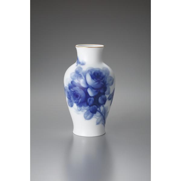 大倉陶園 ブルーローズ 28┣cm┫花瓶 20A/8011(代引不可)