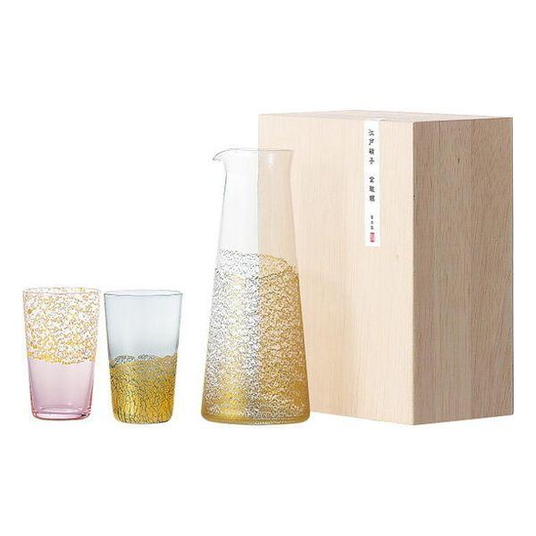 金玻璃 酒器セット G641-H104(代引不可)
