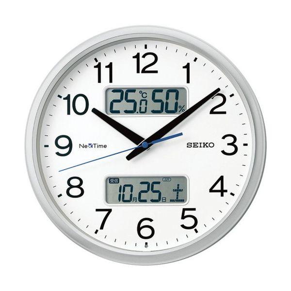 セイコー ハイブリッド電波掛時計 ZS251S(代引不可)