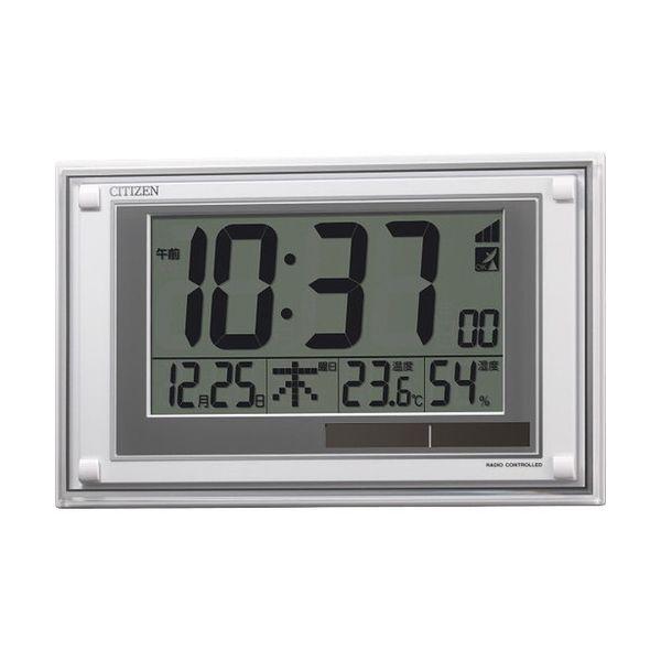 シチズン ソーラー電源電波時計(掛置兼用) 8RZ189-003(代引不可)