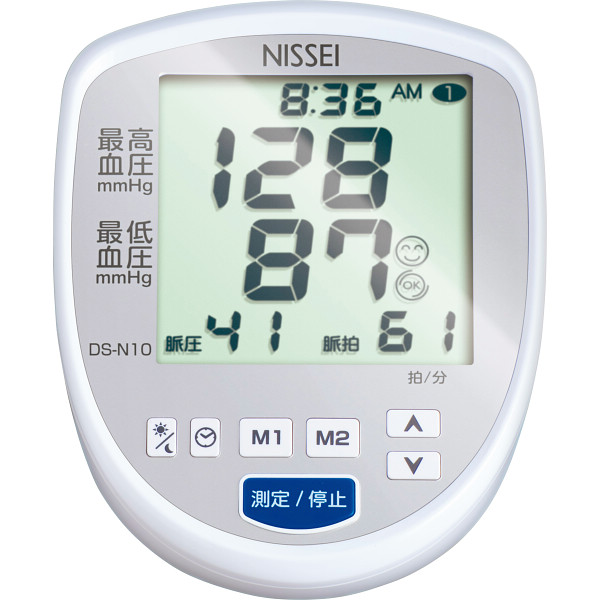 日本精密測器 上腕式デジタル血圧計 DS-N10 健康機器 血圧計 上腕式血圧計(代引不可)【int_d11】