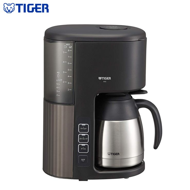 タイガー魔法瓶 コーヒーメーカー 2~8杯用 ACE-S080 KQ カフェブラック【送料無料】