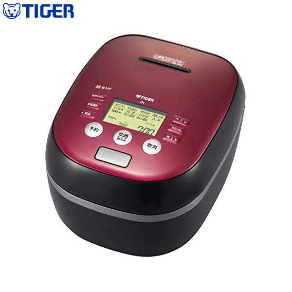 タイガー魔法瓶 土鍋圧力IH炊飯ジャー 炊きたて 5.5合 JPH-B101 KB ボルドーブラック 炊飯器【送料無料】