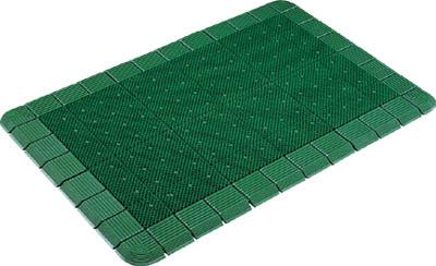 コンドル (屋外用マット)エバックハイローリングマットDX #18 緑【F-121-18 GN】(床材用品・マット)
