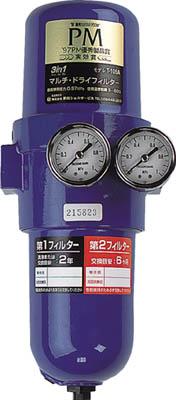 前田シェル 3in1マルチ・ドライフィルターRc3/8インチ【T-105A-1000】(空圧・油圧機器・エアユニット)