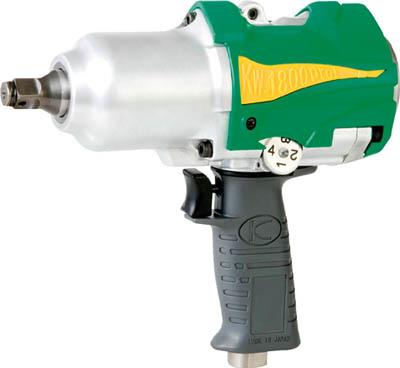 空研 1/2インチ超軽量インパクトレンチ(12.7mm角)【KW-1800PROI】(空圧工具・エアインパクトレンチ)