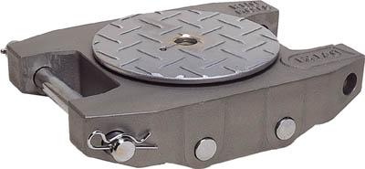 ダイキ スピードローラーアルミダブル型ウレタン車輪3t【AL-DUW-3】(ウインチ・ジャッキ・運搬用コロ車)(代引不可)