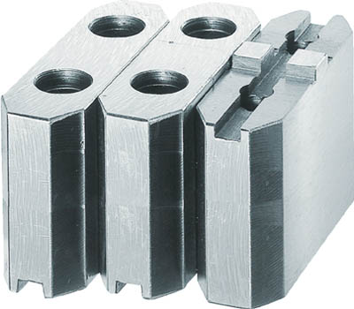 TRUSCO 生爪ソール用 標準型 チャック7インチ H90mm【MSE-7-90】(ツーリング・治工具・チャック・生爪)