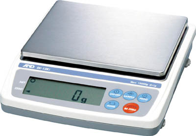カウくる A&D パーソナル電子天びん0.1g/1200g【EK1200I】(計測機器・はかり):リコメン堂-DIY・工具