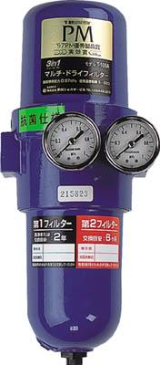 前田シェル 抗菌・除菌3in1マルチ・ドらいフィルターRc1/2インチ【T-107A-1000-AB】(空圧・油圧機器・エアユニット)(代引不可)