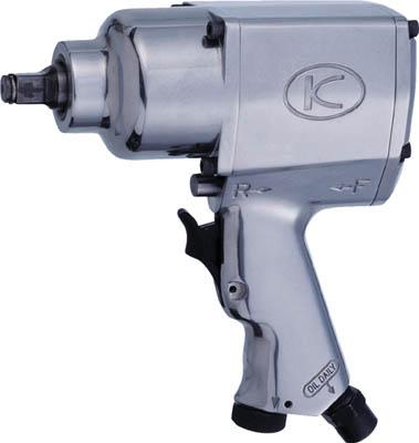 空研 1/2インチSQ中型インパクトレンチ(12.7mm角)【KW-19HP】(空圧工具・エアインパクトレンチ)