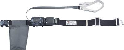 TRUSCO 巻取り式安全帯1本つり専用 幅50mmX長さ1200mmブラック【GR-OT593BK】(保護具・安全帯)