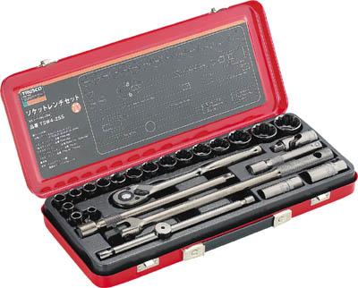 TRUSCO ソケットレンチセット 差込角12.7mm 25S【TSW4-25S】(レンチ・スパナ・プーラ・ソケットレンチセット)