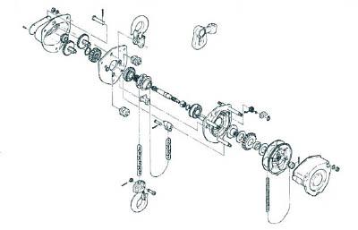 キトー M3形キトーマイティシタフック1シキ C3BA02510213