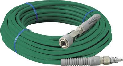 TRUSCO 高圧ホース ワンタッチカップリング付 20m【THP-6-20】(発電機・コンプレッサー・コンプレッサー周辺機器)