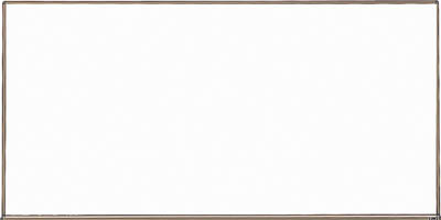 TRUSCO スチール製ホワイトボード ブロンズ 450X600【WGH-132S BL】(OA・事務用品・オフィスボード)